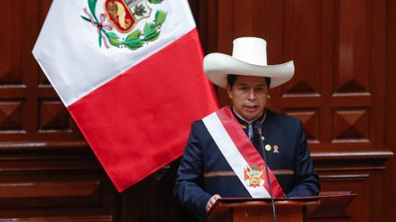 Pedro Castillo: Esto dijo el presidente en su primer mensaje a la Nación [Audiogalería]