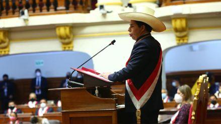 Especialistas analizan el mensaje a la Nación de Pedro Castillo