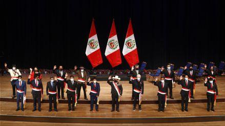 Gabinete Ministerial: estos son los ministros a los que tomó juramento Pedro Castillo