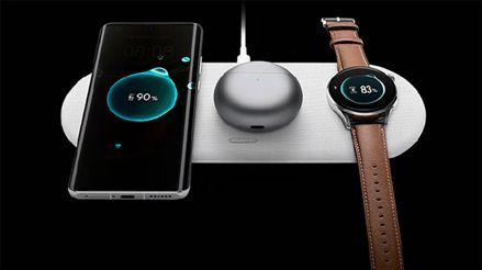 Huawei logra lo que Apple no pudo y presenta un cargador inalámbrico para tres dispositivos