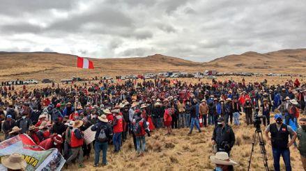 Comunidades del Corredor Minero aceptan plazo de premier Guido Bellido de 60 días para resolver conflicto