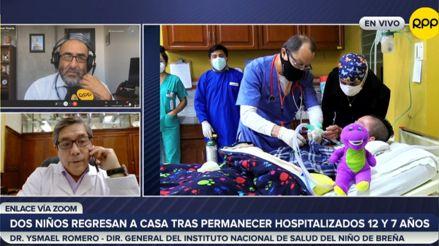 INSN Breña: Dos pacientes regresan a casa tras permanecer hospitalizados 12 y 7 años