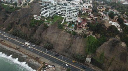 Delgado Sayán considera clave la construcción de un muro para proteger la Costa Verde de un tsunami