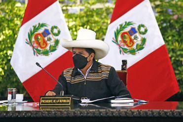 Pedro Castillo brinda su primer Mensaje a la Nación, este lunes