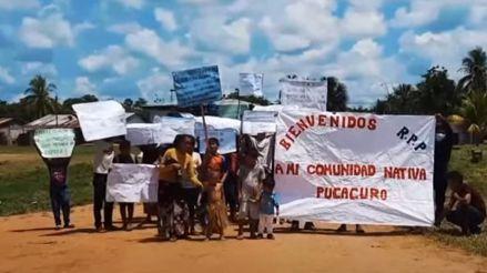 Comunidad de Pucacuro: las carencias con las que afronta la pandemia de la COVID-19