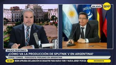Argentina ya ha aplicado más de 700 mil dosis de la vacuna Sputnik V elaborada en su territorio