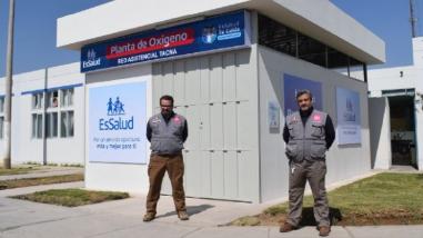'Hombro a hombro': iniciativa empresarial entregó segunda planta de oxígeno para Tacna