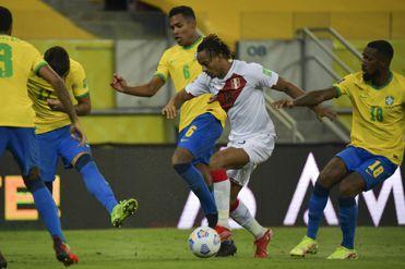 Brasil venció por 2-0 a Perú en el estadio Arena Pernambuco: revive el minuto a minuto del partido por la jornada 10 de las Eliminatorias Qatar 2022