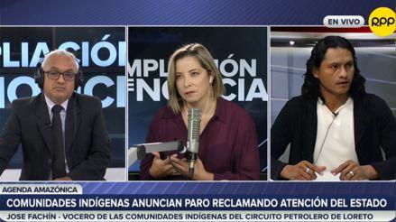 Comunidades indígenas del circuito petrolero de Loreto anuncian paro reclamando atención del Estado