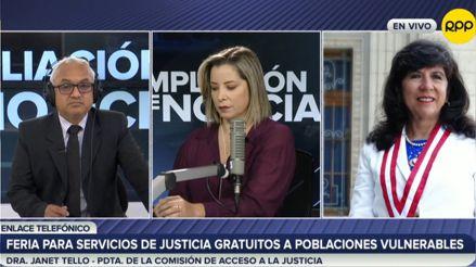 Poder Judicial brindará servicios jurídicos gratuitos a personas en vulnerabilidad