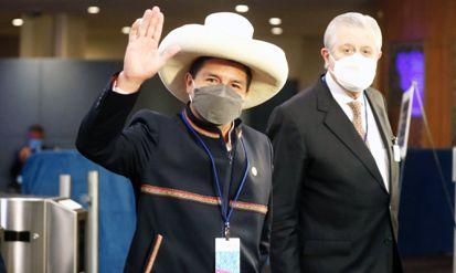 Pedro Castillo interviene hoy en la 76 Asamblea General de la ONU