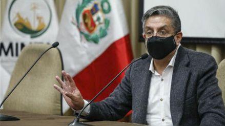 Ministro de Energía y Minas: