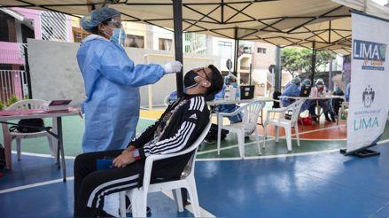Realizarán pruebas de descarte de la COVID-19 en Cercado de Lima