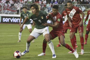 Resultado: Bolivia venció por 1-0 a Perú en partido por Eliminatorias Qatar 2022