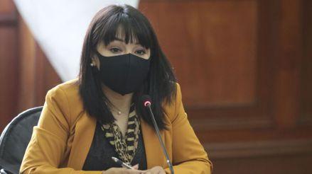Mirtha Vásquez brindó conferencia de prensa tras encabezar Consejo de Ministros