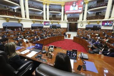 Voto de confianza: Se suspende la sesión del Pleno por señal de duelo hasta mañana martes