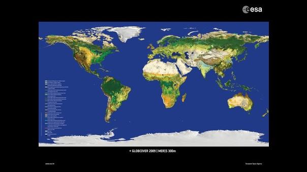 Agencia Espacial Europea Difunde Nuevo Mapa De La Superficie