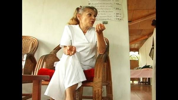 iquitos ciudadana alemana asegura que cura cáncer con ayahuasca