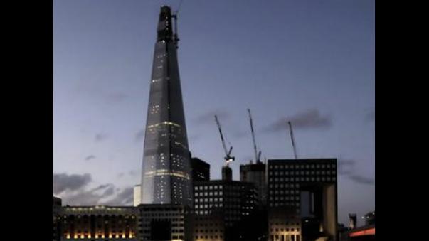 shard london bridge vea la construccin del edificio ms alto de europa