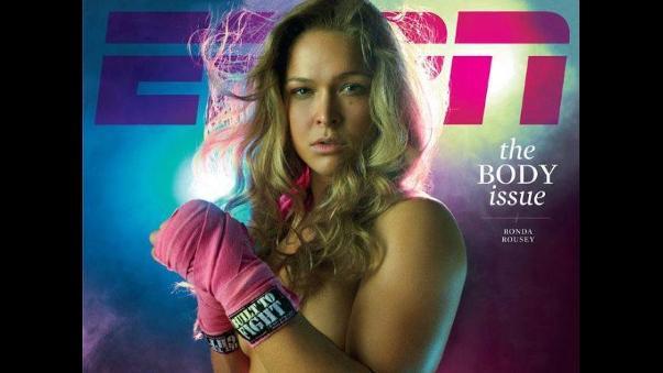 Ronda Rousey Luchadora De Mma Se Desnuda Para Espn The Body Issue