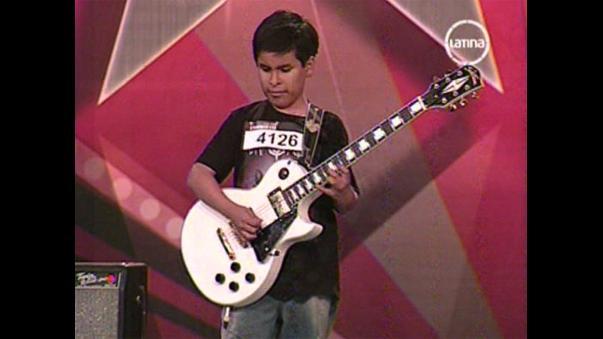 Perú Tiene Talento: Niño invidente sorprende con guitarra eléctrica ...