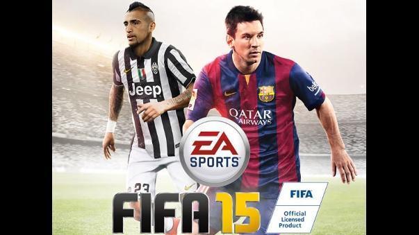Arturo Vidal aparece en la portada de FIFA 15 para Latinoamérica | RPP Noticias