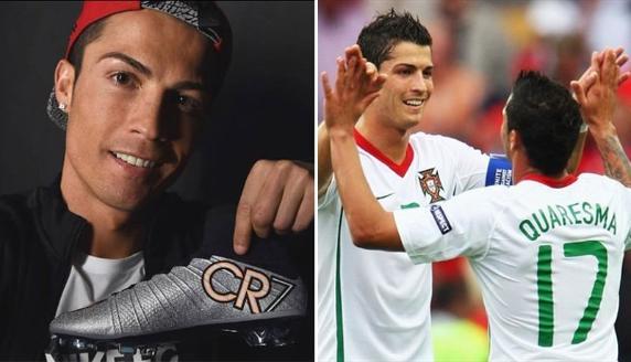 Cristiano Ronaldo  La pesada broma que le jugó a Ricardo Quaresma ... 4c464cf6646aa