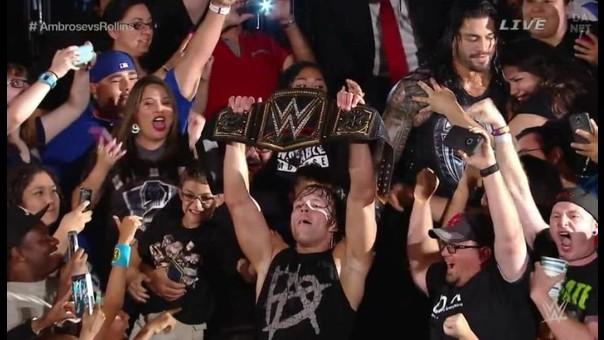 WWE: Dean Ambrose venció a Seth Rollins y 'secuestró' el título de la WWE |  RPP Noticias
