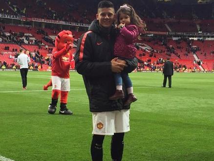 Manchester United: Marcos Rojo y el tierno video con su hija | RPP ...