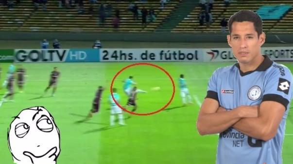 Gol a los 17 segundos de juego en la Copa Sudamericana