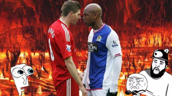 La pelea que causó Steven Gerrard