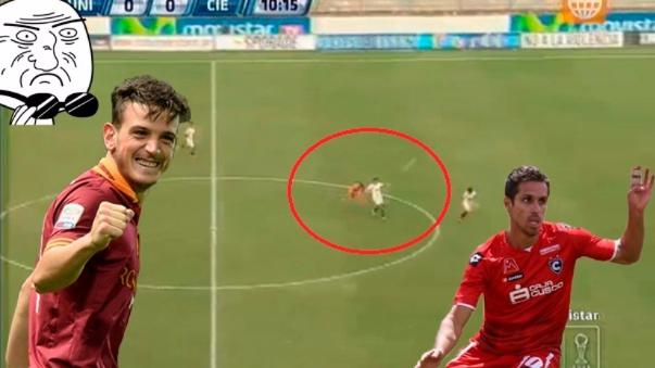 Carlos Orejuela estuvo cerca de marcar un gol a lo Alessandro Florenzi