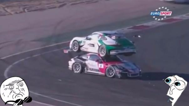 Terrible accidente en circuito de Navarra