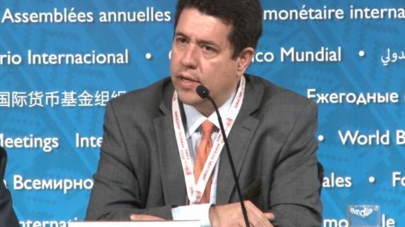 Alberto Rodríguez, director del Banco Mundial para la región andina