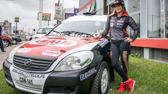 Alejandra Baigorria afirma estar lista para completar el rally peruano