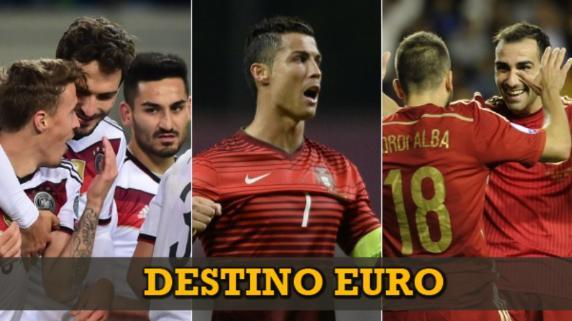Los 16 clasificados a la Eurocopa 2016
