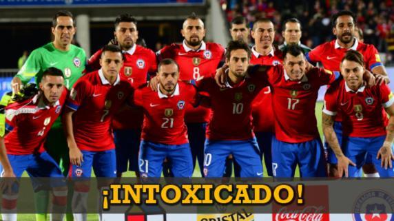 Una baja por intoxicación en la Selección de Chile
