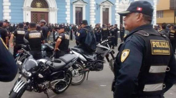 Protesta seguridad ciudadana