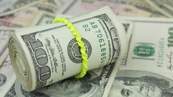 El dólar cerró al alza.