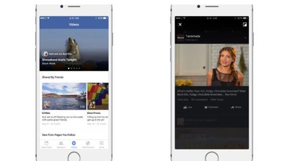 Facebook pone la mira en videos para competir contra YouTube