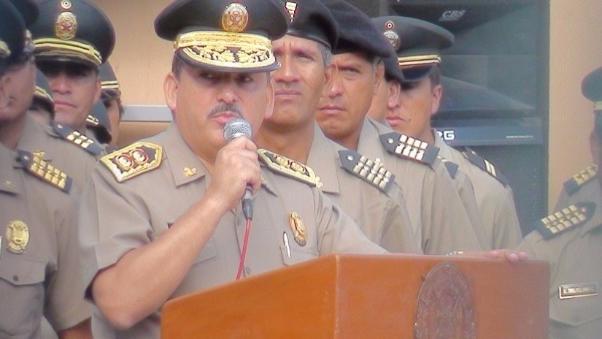 Gral. PNP Cluber Aliaga expondrá avances de la policía en la lucha frontal contra la delincuencia.
