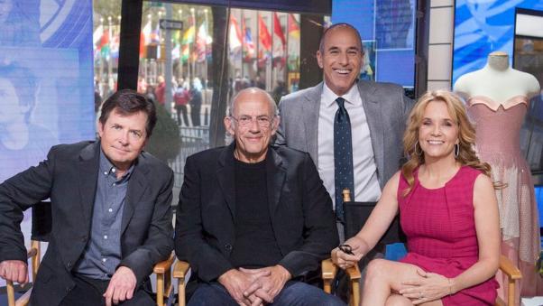 Los protagonistas de la cinta se reencuentran en show de TV