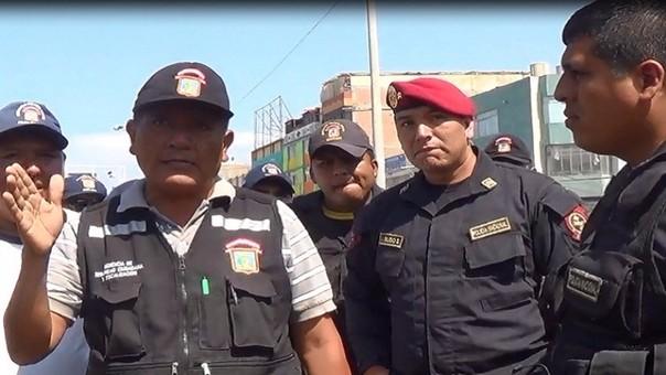 Jefe de la policía municipal no teme a amenazas de los ambulantes.