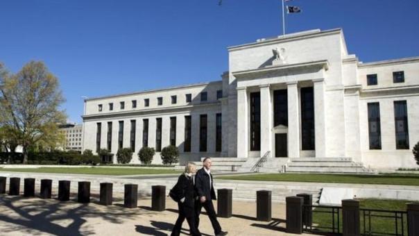 Fachada de la Reserva Federal de Estados Unidos en Washington.