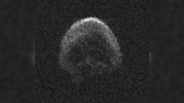 La NASA ha difundido las primeras imágenes del asteroide