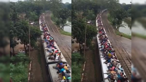 La red ferroviaria de la India es la segunda más grande del mundo
