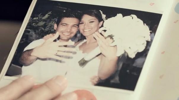 Ezio Oliva reveló una foto de su boda en el videoclip 'Siempre Has Sido Tú'.