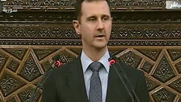 Presidente sirio.