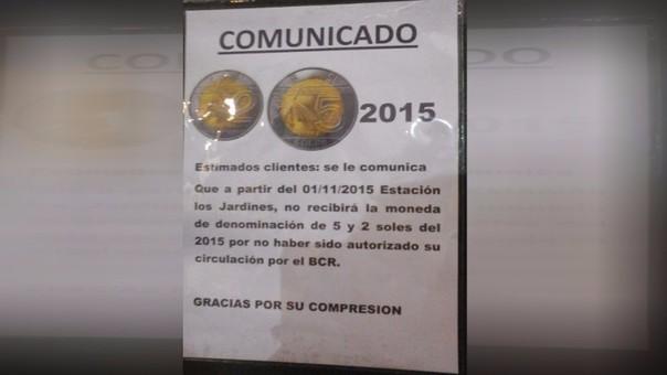monedas BCR