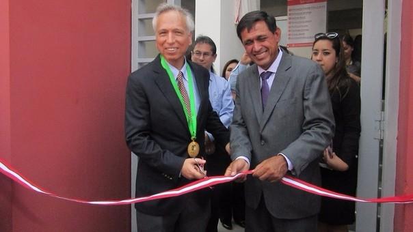 Ministro de Justicia inauguró módulo de justicia en Ferreñafe